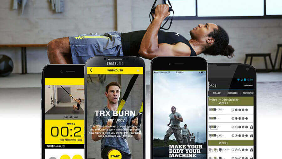 TRX mobile app iphone