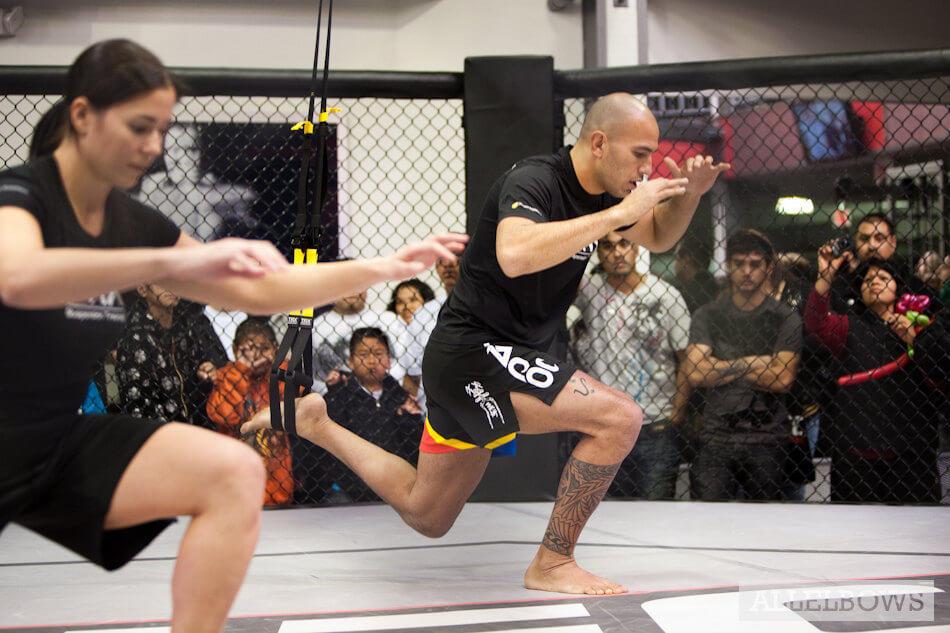 TRX MMA training