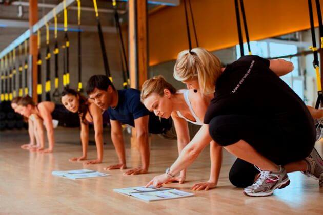 TRX Suspension Training Certification