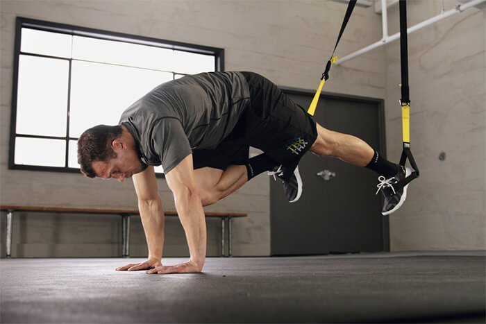 trx mountain climber technique