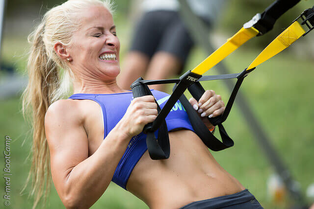 TRX HIIT training