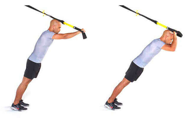 TRX Triceps Press