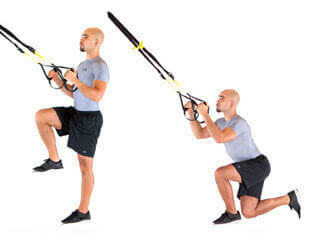 TRX Crossing balance