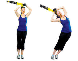 TRX Standing Hip Drop