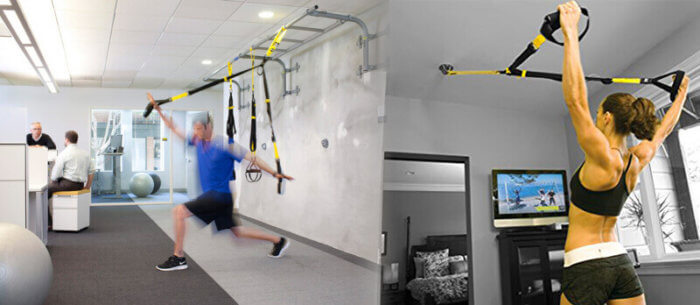 TRX Office exercises
