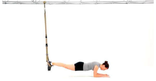 TRX Plank variation