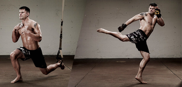 trx suspension training mma