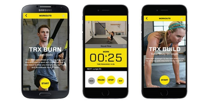 The TRX Mobile App review