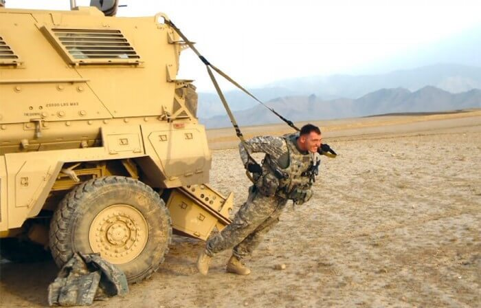 trx military workout