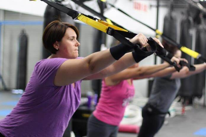 TRX training routine