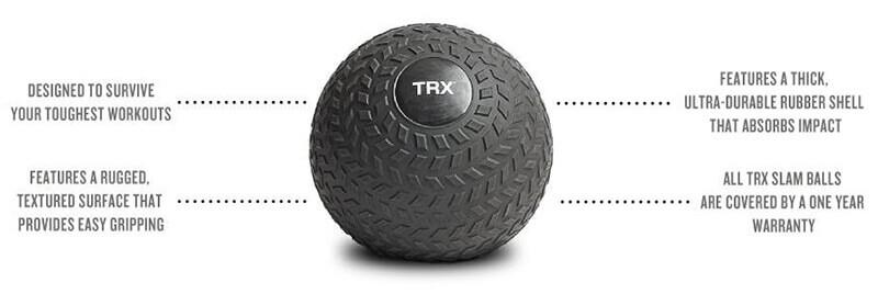 trx training - heavy slam ball exercises
