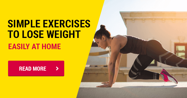 10 Simple Exercises To Lose Weight At Home Core Training Tips