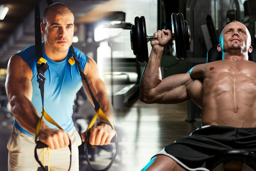 is trx effective for building muscle