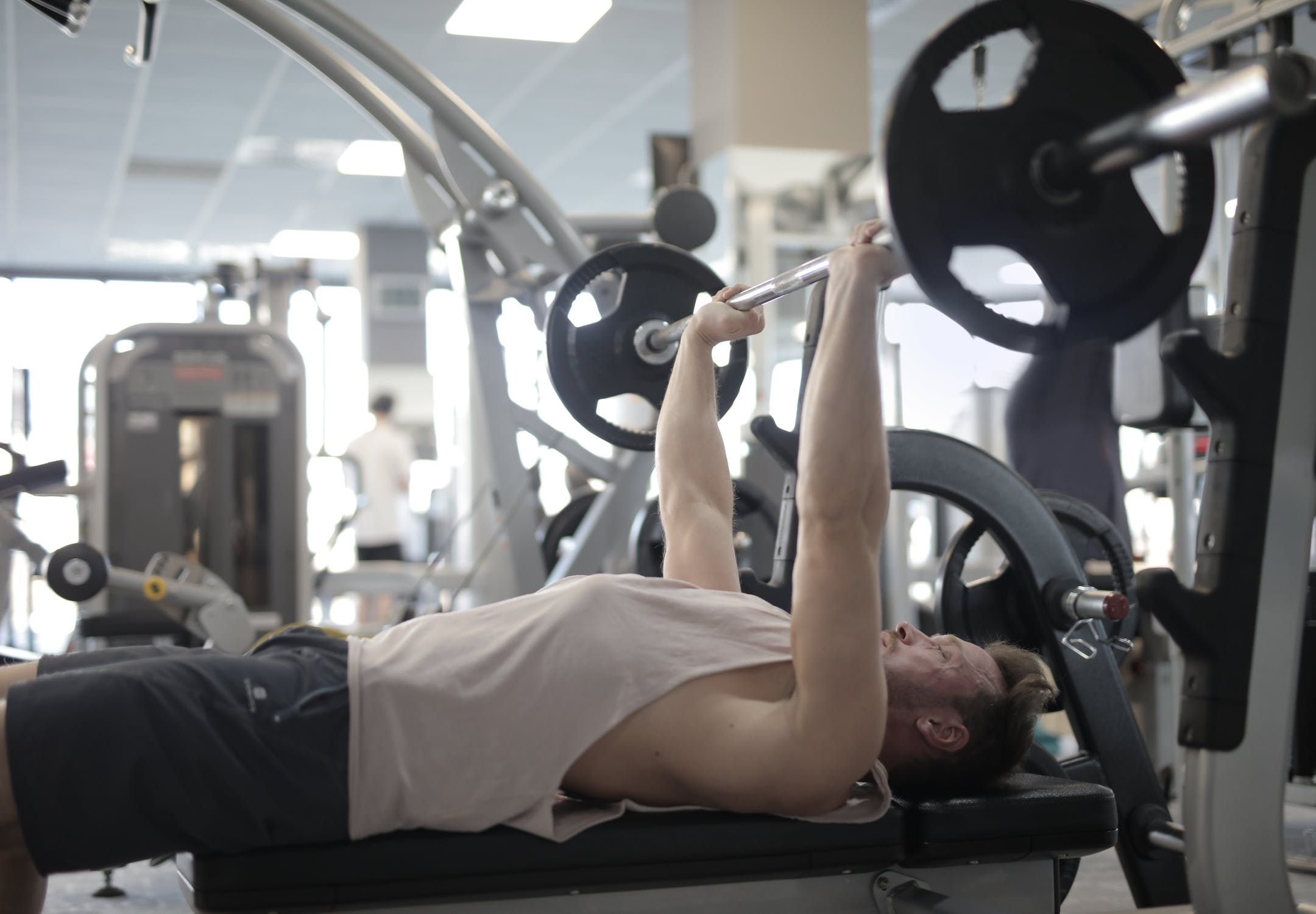 Bench Press with a Barbell